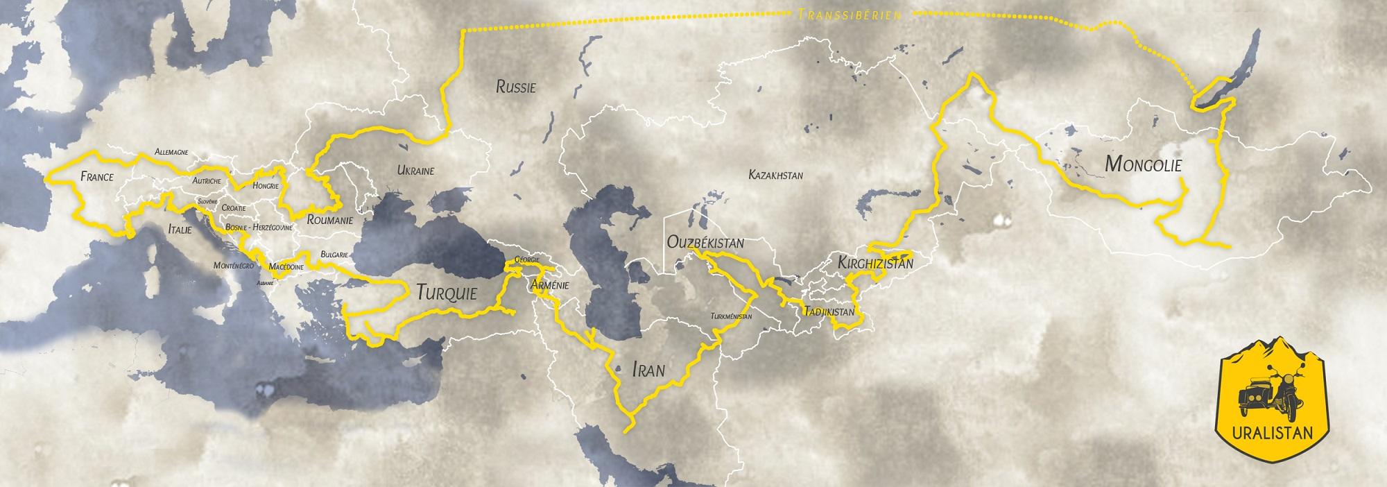 Uralistan - itinéraire road trip